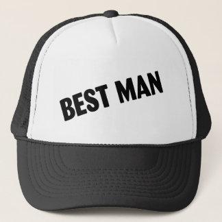 Gorra De Camionero El mejor hombre que casa negro