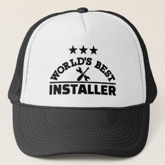 Gorra De Camionero El mejor instalador del mundo