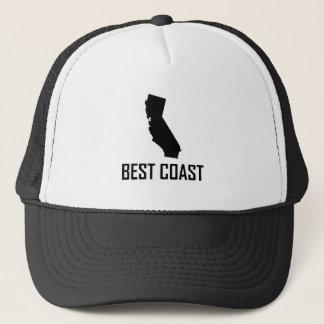 Gorra De Camionero El mejor negro de California de la costa oeste