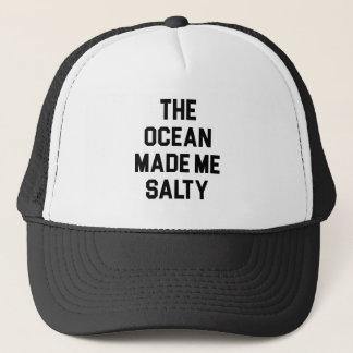 Gorra De Camionero El océano me hizo salado