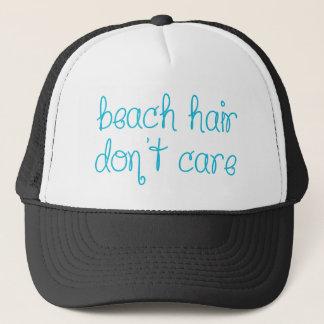 Gorra De Camionero El pelo de la playa no cuida