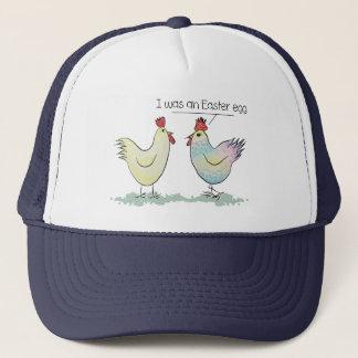 Gorra De Camionero El pollo divertido era un huevo de Pascua