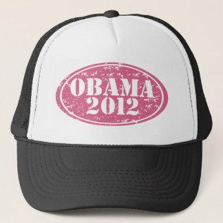 Gorra De Camionero el rosa de obama 2012 se descoloró