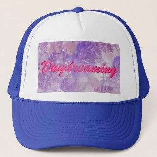 Gorra De Camionero El soñar despierto floral violeta