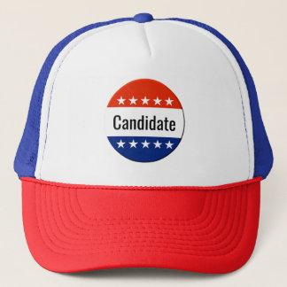 Gorra De Camionero Elección de encargo de plazo medio de la campaña