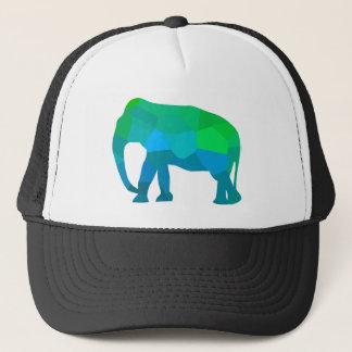 Gorra De Camionero Elefante 1 del mosaico