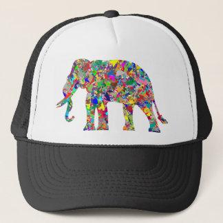Gorra De Camionero Elefante psicodélico