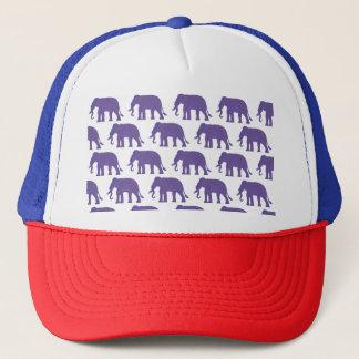 Gorra De Camionero Elefantes púrpuras
