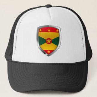 Gorra De Camionero Emblema de Grenada Mettalic