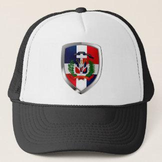 Gorra De Camionero Emblema de Mettalic de la República Dominicana