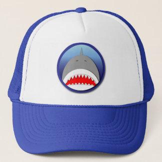 Gorra De Camionero Emblema del tiburón