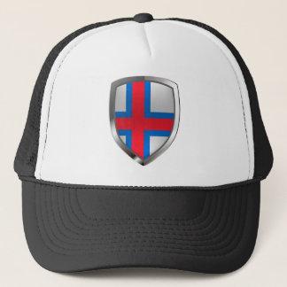 Gorra De Camionero Emblema metálico de Faroe Island