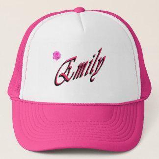 Gorra De Camionero Emily, nombre, logotipo,