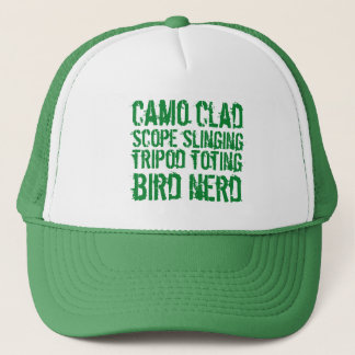 Gorra De Camionero Empollón Toting del pájaro del trípode revestido