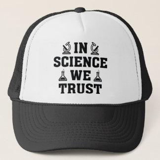 Gorra De Camionero En ciencia confiamos en