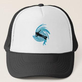 Gorra De Camionero En el azul