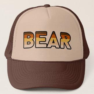 Gorra De Camionero Engranaje 2 del logotipo del oso