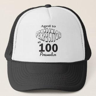 Gorra De Camionero Envejecido a la perfección en 100 el 100o nombre