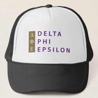 Gorra De Camionero Épsilon de la phi del delta apilado