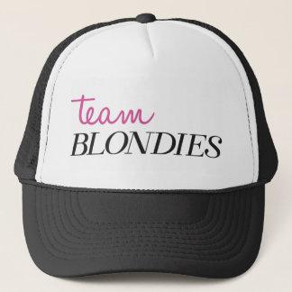 Gorra De Camionero Equipo Blondies del casquillo