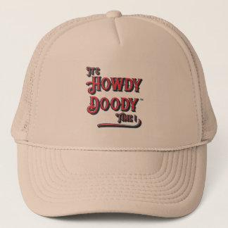 Gorra De Camionero ¡Es Howdy tiempo de Doody! Casquillo retro del