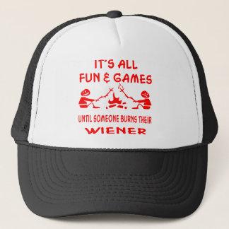 Gorra De Camionero Es toda la diversión y juegos hasta que alguien