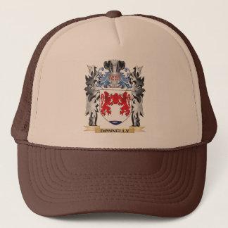 Gorra De Camionero Escudo de armas de Donnelly - escudo de la familia