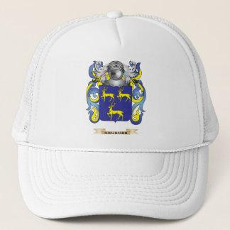 Gorra De Camionero Escudo de armas de Gruener (escudo de la familia)