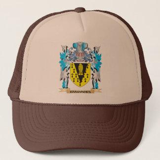 Gorra De Camionero Escudo de armas de Hancocks - escudo de la familia