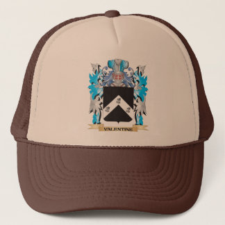 Gorra De Camionero Escudo de armas de la tarjeta del día de San