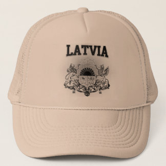 Gorra De Camionero Escudo de armas de Letonia