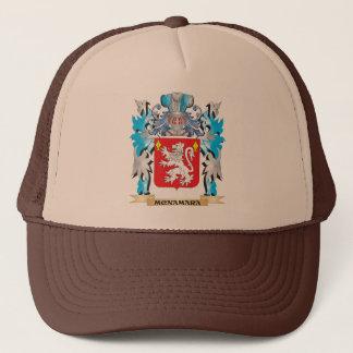 Gorra De Camionero Escudo de armas de Mcnamara - escudo de la familia