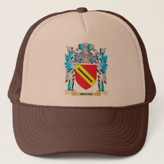 Gorra De Camionero Escudo de armas de Minto - escudo de la familia
