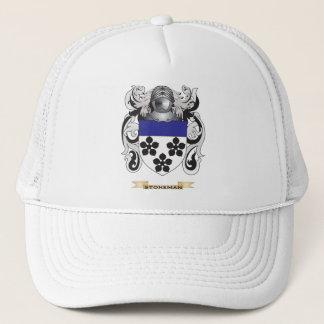 Gorra De Camionero Escudo de armas de Stoneman (escudo de la familia)