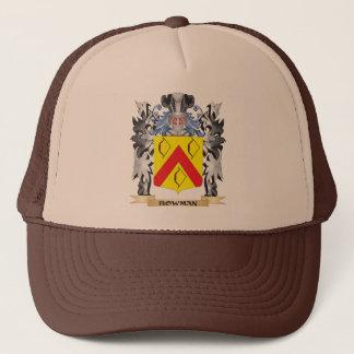 Gorra De Camionero Escudo de armas del arquero - escudo de la familia