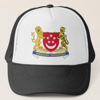 Gorra De Camionero Escudo de armas del emblema del 新加坡国徽 de Singapur
