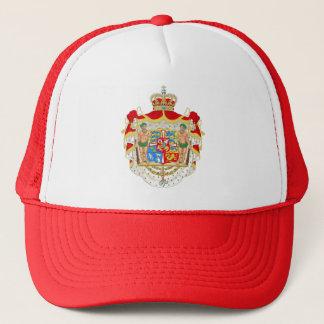 Gorra De Camionero Escudo de armas real danés del vintage de