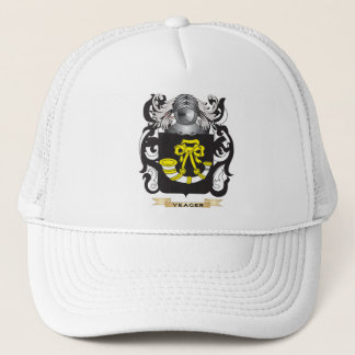 Gorra De Camionero Escudo de la familia de Yeager (escudo de armas)