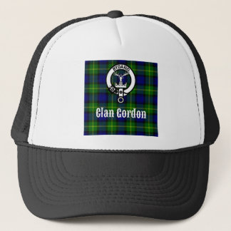 Gorra De Camionero Escudo del tartán de Gordon del clan