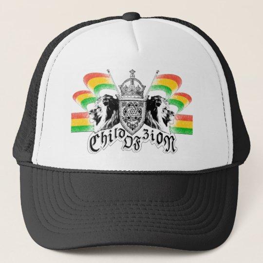 Gorra De Camionero Escudo real del reggae de Rasta
