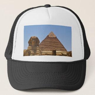 Gorra De Camionero Esfinge y pirámide