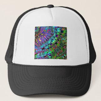 Gorra De Camionero Espectro abstracto de formas