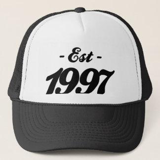 Gorra De Camionero establecido 1997 - cumpleaños