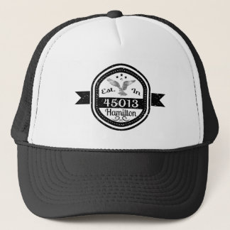 Gorra De Camionero Establecido en 45013 Hamilton