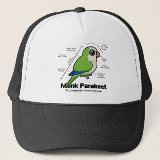 Gorra De Camionero Estadísticas del Parakeet del monje
