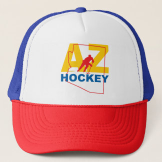Gorra De Camionero Estado del hockey de Arizona