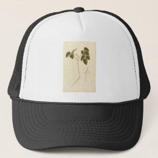 Gorra De Camionero Estudio de la flor - acuarela