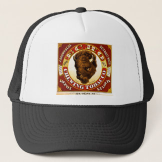 Gorra De Camionero Etiqueta 1873 del tabaco de mascar del eco del