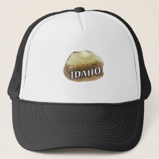 Gorra De Camionero Etiqueta de la patata de Idaho