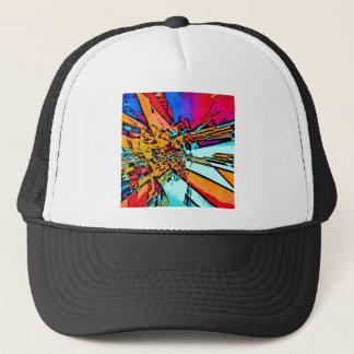 Gorra De Camionero Extracto del arte pop